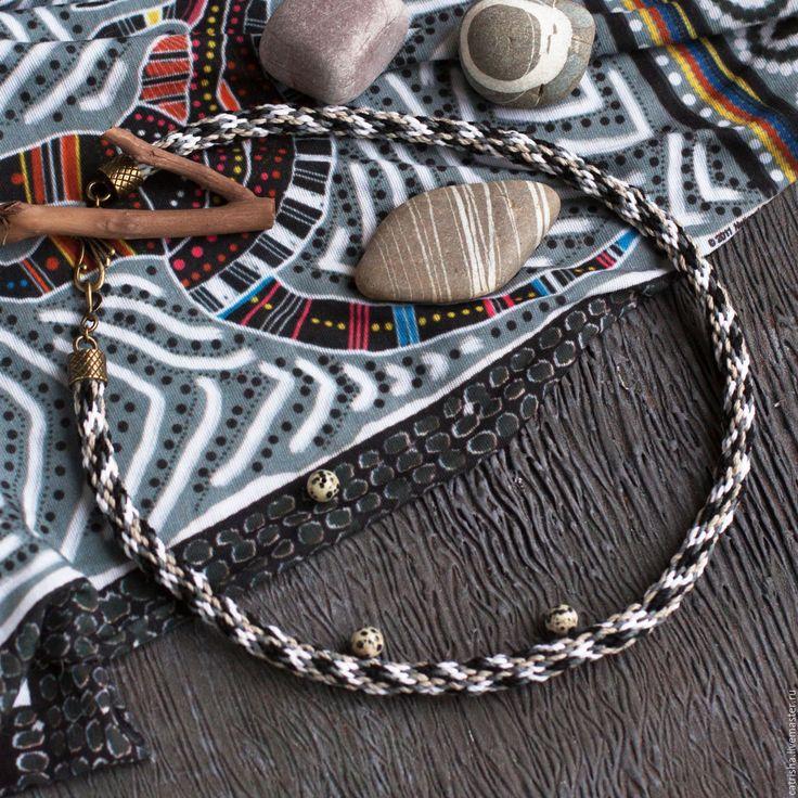 Купить Чокер Волк, этно украшение на шею индейское украшение бохо, 23 февраля