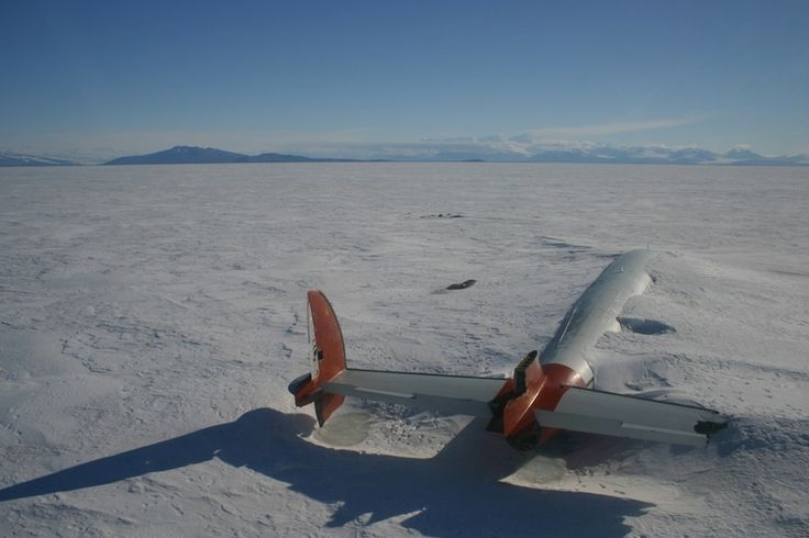 The remains of the Pegasus in McMurdo Sound, Antarctica   The 33 Most Beautiful Abandoned Places In The World
