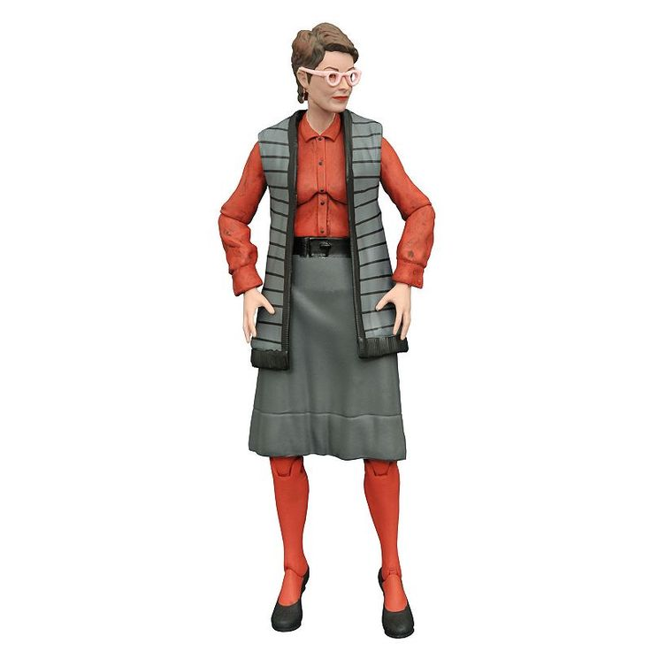 Diamond Select Toys Ghostbusters Select Series 3 Janine Action Figure, Multicolor