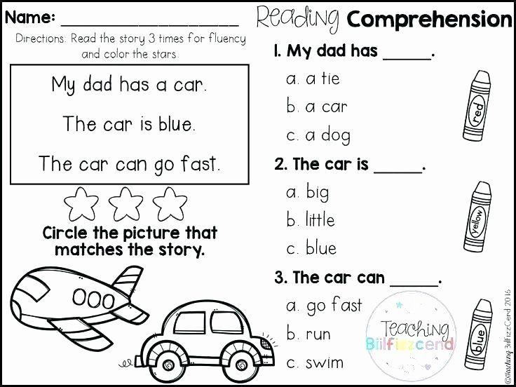 Free Printable Kindergarten Fluency Passages Printable Worksheets In 2020 Reading Comprehension Kindergarten Free Kindergarten Reading Reading Comprehension Worksheets