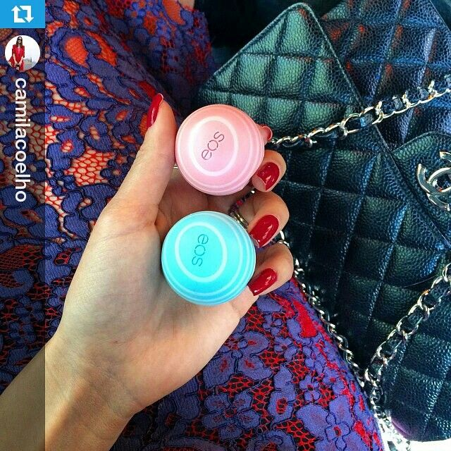 Even the Brazilian blogger Camila Coelho is addicted to EOS  #Bahrain #Kuwait #UAE #KSA #Qatar #Oman #dubai #abudhabi #doha #riyadh #GCC #amwaj