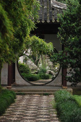 Lingering Garden, Suzhou. Spaces on spaces