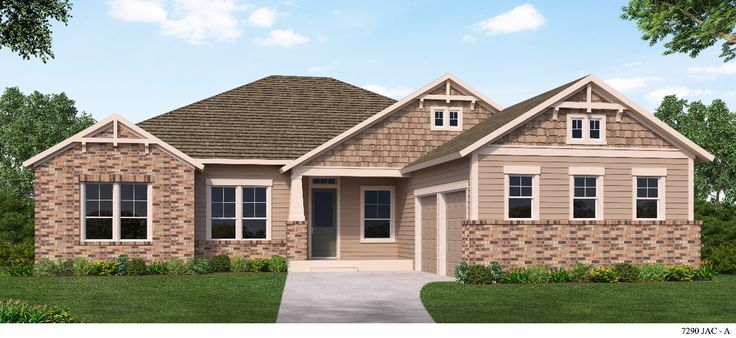 The Cowford by David Weekly Homes is stunning with a #craftsman elevation! #20MileatNocatee
