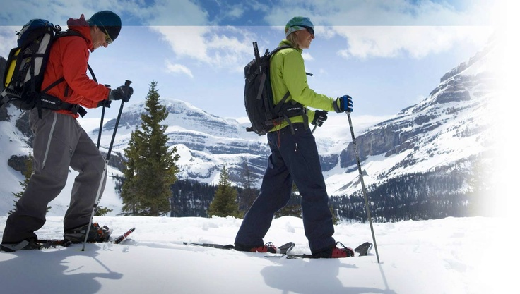 Snowshoeing - http://ow.ly/8IPuJ