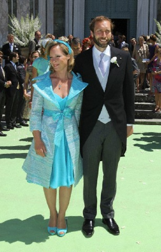Dutch Princess Margarita of Bourbon- Parma, Countess of Colorno and her husband Tjalling ten Cate