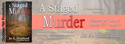 #newblogpost - Come stop by & check out A Staged Murder by Jo A. Hiestand - Book Tour on the blog today!! @GoddessFish  Fabulous and Brunette: A Staged Murder by Jo A. Hiestand - Book Tour - Ex...