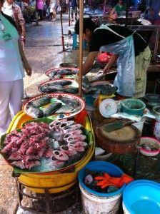 Markets Khon Kaen Thailand
