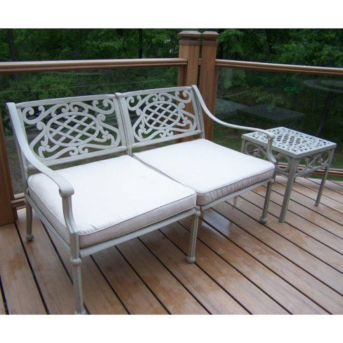 Oakland Living 1126-2106-4-BS Tacoma Deep Seating Loveseat by Oakland Living. $531.99. Easy to Follow Assembly Instructions and Product Care Information. Rust Free Cast Aluminum Construction. 1 Year Limited Manufacturers Warranty. Oakland Tacoma. Hardened Powder Coat Finish in Beach Sand for Years of Beauty. Finish:Beach Sand The Oakland Tacoma Collection combines southern style and modern designs giving you a rich addition to any outdoor setting. The traditiona...