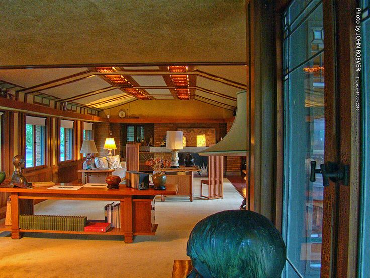 2659 Best Frank Lloyd Wright Prairie Houses Images On
