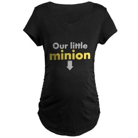 Our little minion Maternity T-Shirt MINIONS FUNNY HUMOR
