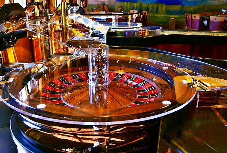 Roulette Table - Taken at Casino Seefeld in Tirol, Austria.