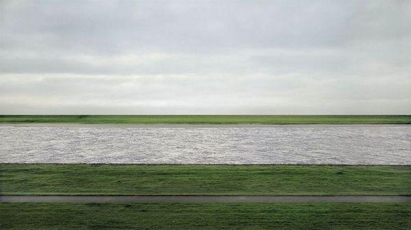 «Рейн II» (1999). Фотограф Андреас Гурски (AndreasGursky)