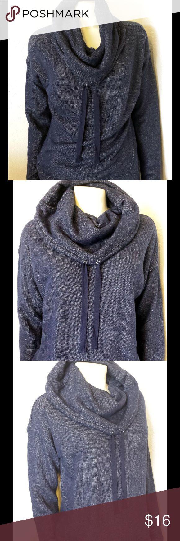 """Dark Blue """"Ralph Lauren"""" Cowl Neck Sweatshirt Dark Blue """"Ralph Lauren"""" Cowl Neck Sweatshirt Ralph Lauren Tops"""