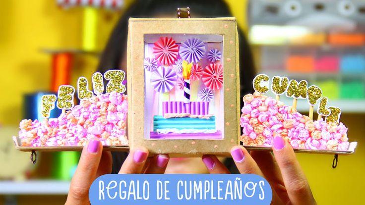 Regalo bonito: Caja cumpleañera HAPPY BOX ✎ Craftingeek
