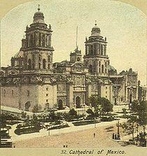 Catedral Metropolitana, c. 1900.