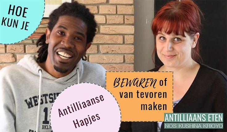 Antilliaanse snacks bewaren / van tevoren maken