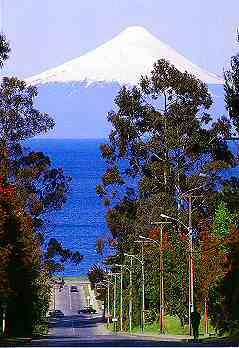 Frutillar, Lago Llanquihue, Volcán Osorno, Chile.     It's hard to believe something can be this beautiful
