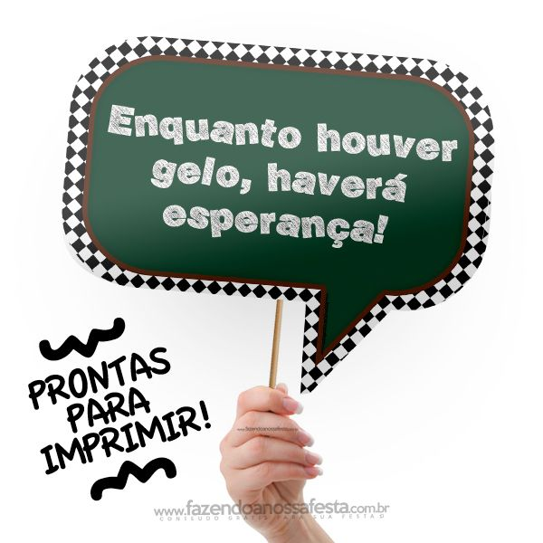 Plaquinhas Divertidas Festa Boteco!  Pinterest  Frases