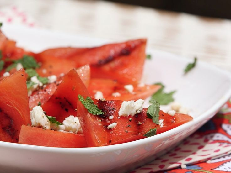 How to MakeaGrilled Watermelon, Mint, and Feta Salad   Watermelon is the celebrity of all summer fruits—not only is it delicious, but it's super hydrating and packed with vitamins A and C.