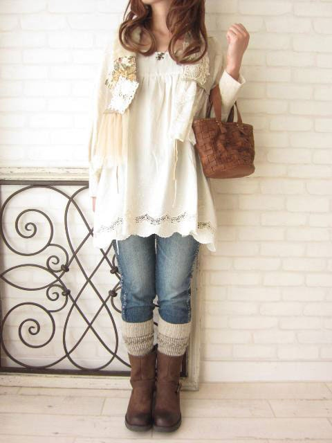 Cute, I just need the sweater socks and I'd be able to recreate this outfit.