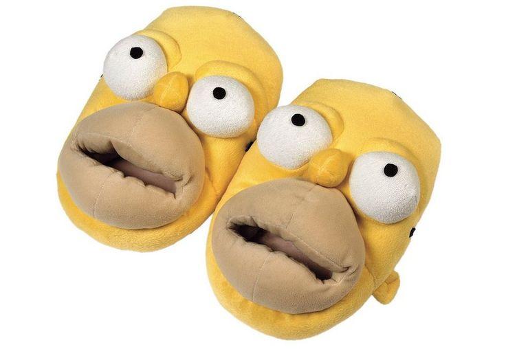 United Labels Hausschuhe in 3 Größen, »The Simpsons, Homer« für 19,99€. Hausschuhe »The Simpsons, Homer«, Ab 3 Jahren, Aus Polyester bei OTTO