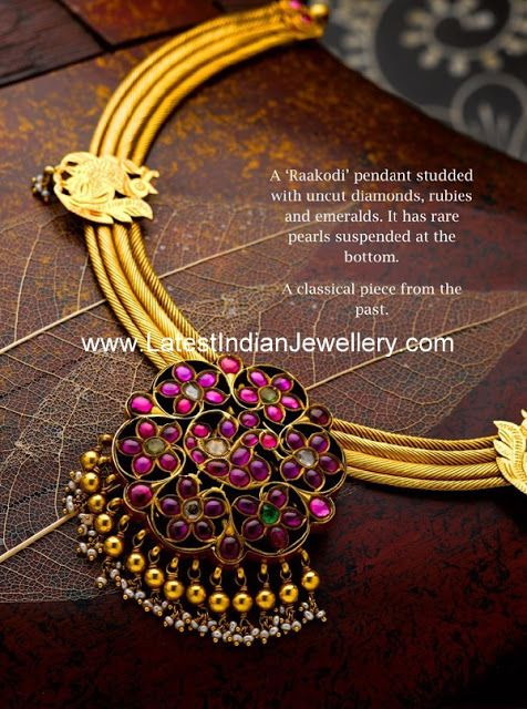 Indian Designer Gold and Diamond Jewellery | LatestIndianJewellery.com