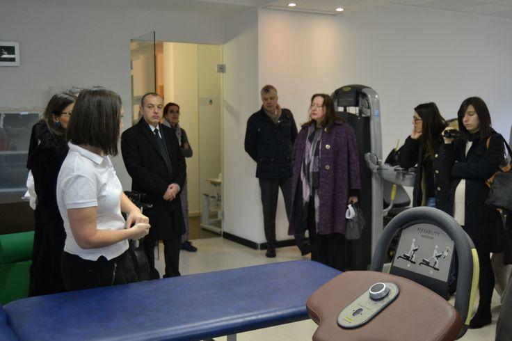 Terme di Boario, 5 febbraio - visita all'European Parkinson Therapy Centre