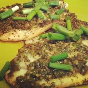 Cilantro and Ginger Baked Tilapia...a great way to spice up your diet ...