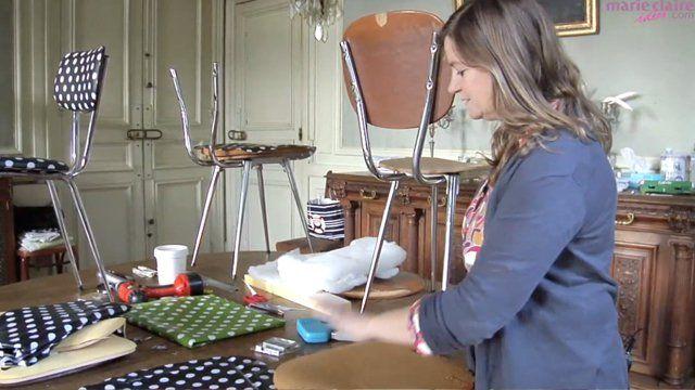 Vidéo: Apprenez à retapisser une chaise avec Fabuleuse Factory