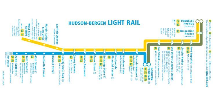 LIGHT RAIL MAP NJ