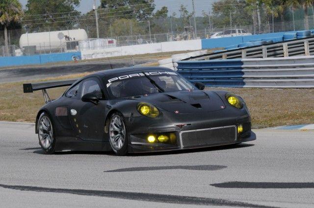 2013 Porsche 911 RSR Race Car Revealed