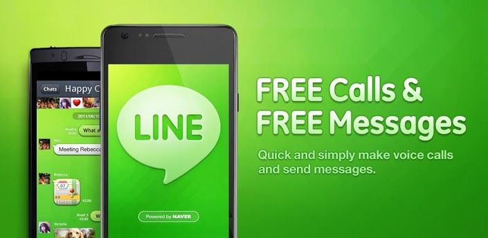 LINE: Free Calls & Messages - Android Apps on Google Play: This app is the easiest way to use SMS type communication with your family and friends over sea......