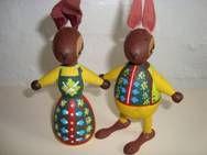 Eigenbrod Easter hares. #Eigenbrod #Easter #paaske. SOLGT.