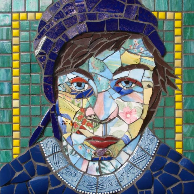 "Saatchi Art Artist Gila Rayberg; New Media, ""Kitchen Goddess #3, Mosaic"" #art"