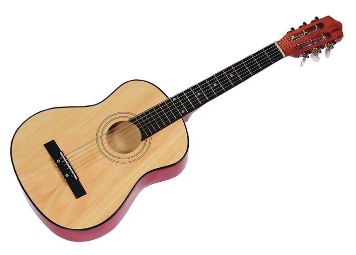 Gitarre Kindergitarre 6 Saiten Guitar Holz