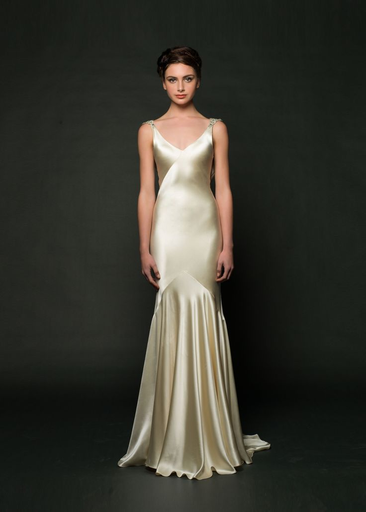 37 best Charmeuse Dresses images on Pinterest   Long prom dresses ...