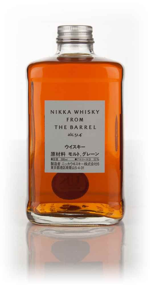 La Matera Men's Gift Guide: Nikka Whisky From The Barrel $42 - Master of Malt #bottle #design #products