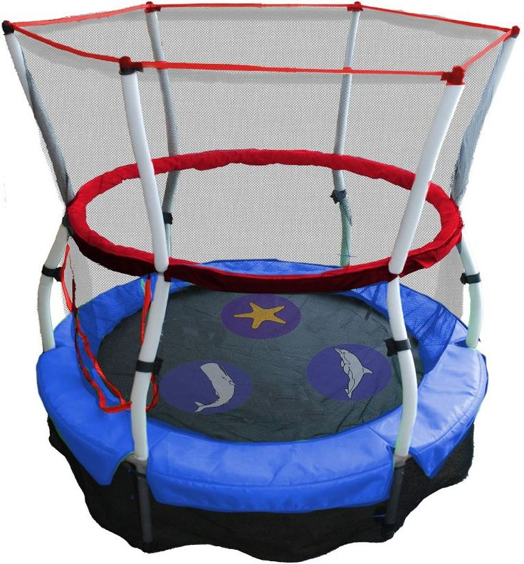 Exterior: Brilliant 10ft Trampoline With Enclosure And Ladder from Outdoor Trampoline With Enclosure