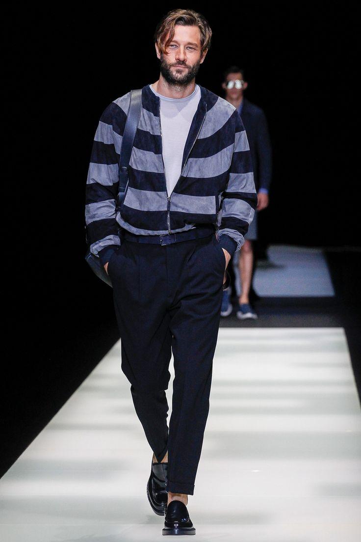 Giorgio Armani Spring 2018 Menswear Fashion Show