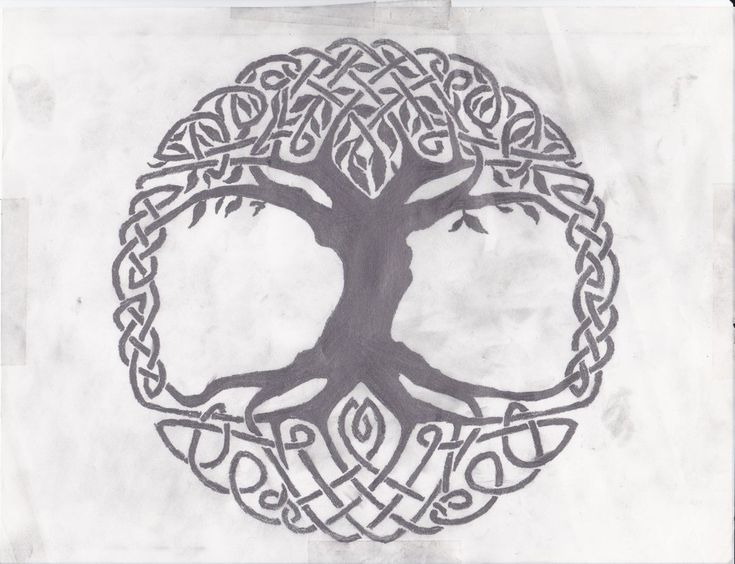 Celtic Tree of Life by Grimstnzborith