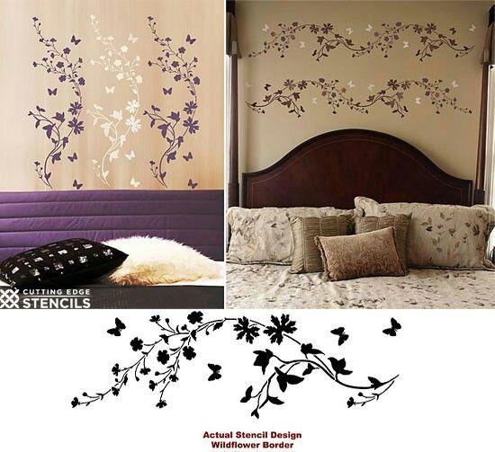 Best 25+ Painted wall borders ideas on Pinterest | Half ...
