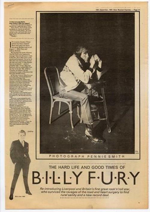 Billy Fury Interview