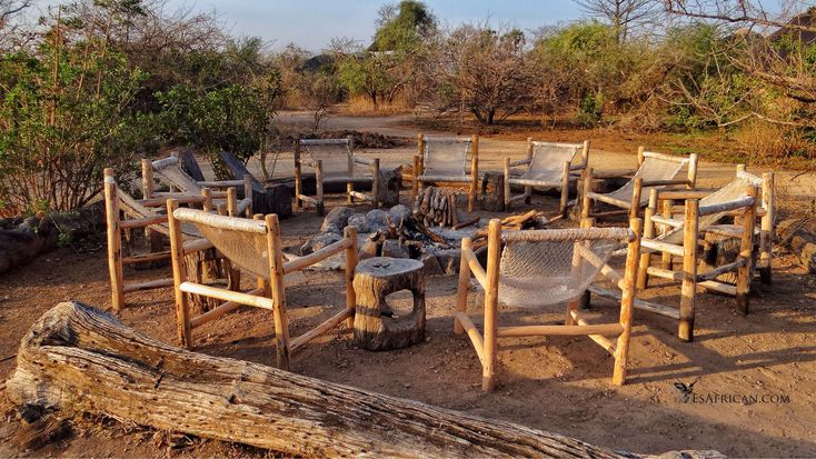 The right place for a drink and some stories under a great southern sky. Our blog post warns about the stories you might hear here... #Campfire #Bushmans #Baobabs #LiwondeNationalPark #SouthernSky #Malawi