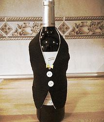 Esmoquin para vestir botellas