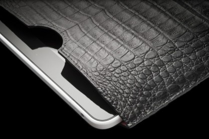 With a glamourous price tag of $2,620, Alexander Amosu gives you his Alexander Amosu iPad 2 Case.