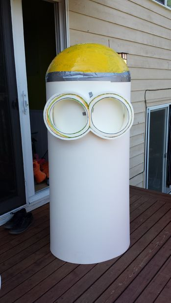 Picture of Body structure for Minion Costumes