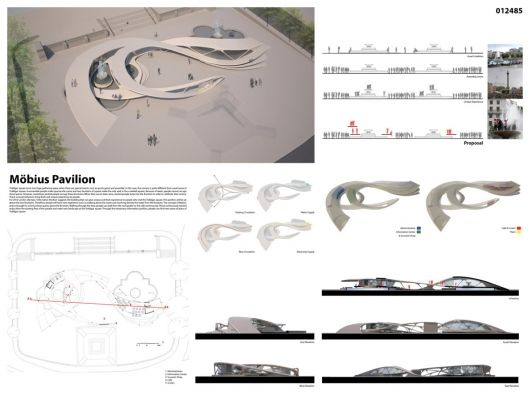 Winners of the [LONDON] Olympic Games Information Pavilion Competition