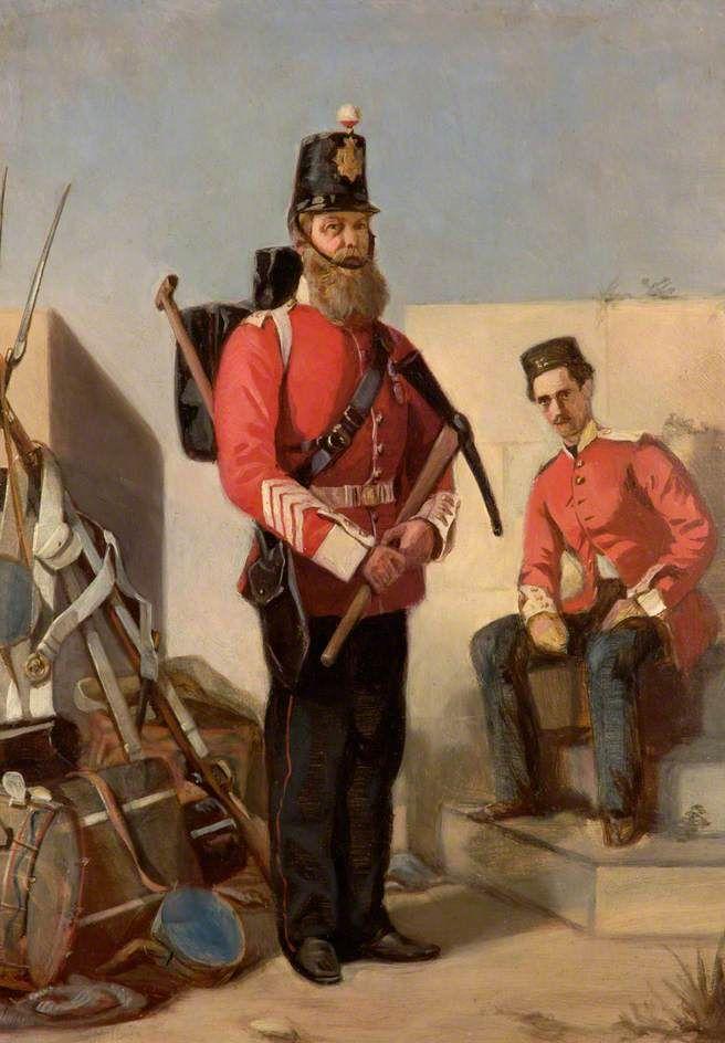 22nd Cheshire Regiment of Foot Pioneer, c.1858