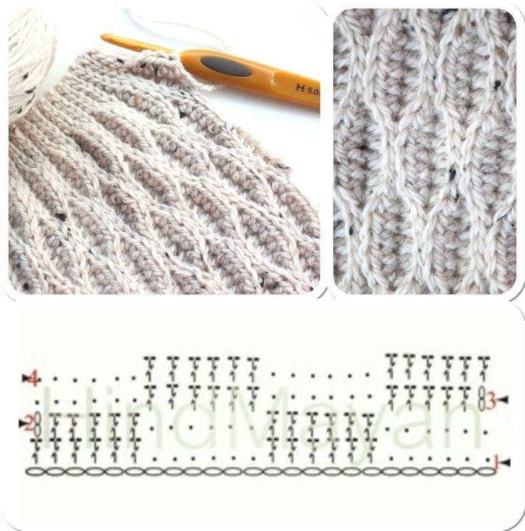 les 25 meilleures id es de la cat gorie crochet tunisien sur pinterest mod les au crochet. Black Bedroom Furniture Sets. Home Design Ideas