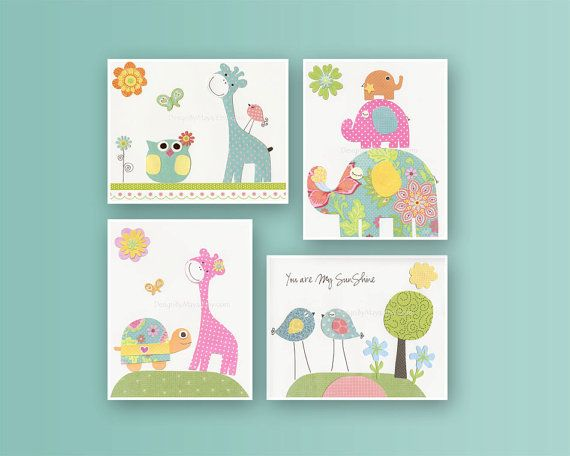 Baby room Nursery Print Art Decor Kids Print Love by DesignByMaya, $65.00